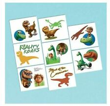 The Good Dinosaur Tattoos, perfect for party bag fillers, 1 sheet 8 squares