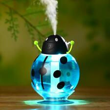 Cute Beatles Home Aroma LED Humidifier Air Diffuser Purifier Atomizer Blue