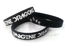 3 pieces Imagine Dragons Silicone Bracelet Wristband New