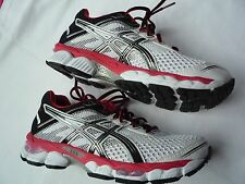 Mens Asics Gel Cumulus 15 Trainers Size 6 White,Black & Red New Genuine