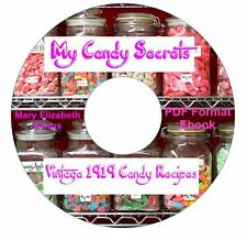 RARE CANDY SECRETS-Evans Cookbook Recipes CD Ebook PDF-Kindle-iPhone Compatible
