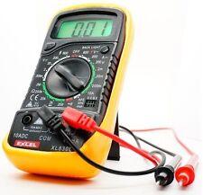 Digital Voltmeter Ammeter Ohmmeter Multimeter Volt AC DC Tester Meter XL-830L US