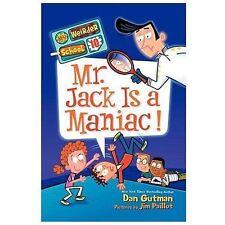 My Weirder School #10: Mr. Jack Is a Maniac!-ExLibrary