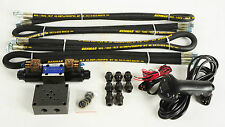 HYDRAULIC WINCH INSTALLATION KIT VALVE HOSES CONTROL GEAR