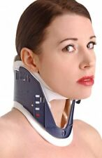 "ADJUSTABLE POSTURE COLLAR neck stretching training brace device 4-6"" lightweight"