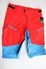 New Sombrio Men's Pursuit Cycling MTB Baggy Bike Shorts Large NWT Red Mountain L