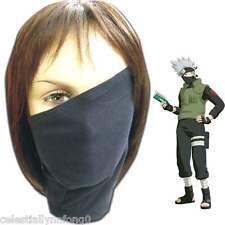 Anime Naruto Konoha Hatake Kakashi Cosplay Face Mask Chiffon Bike Mouth Muffle