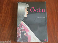 VIZ ENGLISH MANGA OOKU THE INNER CHAMBERS VOLUME 3 FUMI YOSHINAGA