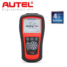 Autel Maxidiag Elite MD802 4 System OBD2 Diagnostic Tool Code Scanner ABS Airbag