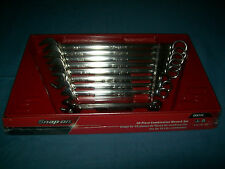 "NEW Snap-on™ 5/16"" thru 7/8"" 12-point box open end combination Wrench Set OEX710"