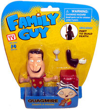Family Guy Create-A-Figure Quagmire Figure MIB Walgreens Exclusive W/ Death Part