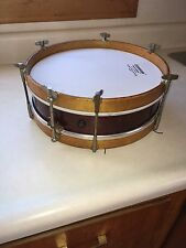 Antique Snare Drum Ludwig Weathermaster ? 12""