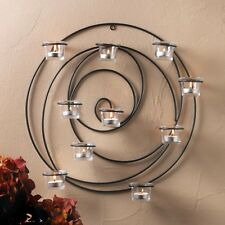 HYPNOTIC CANDLE WALL SCONCE CANDLEHOLDER CANDLE HOLDER - NEW!