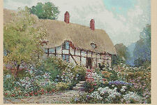 Cross stitch chart-country cottage no... 120 uk gratuit p&p. TSG37...