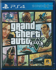 Grand Theft Auto V Asia Chinese/English subtitle Version English voice PS4 NEW
