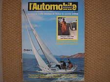 L'AUTOMOBILE SPECIALE #4 1967 ASTRO 1 GENERAL MOTORS NAUTICA ANDREANI BAGLIETTO
