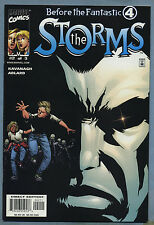 Before the Fantastic Four The Storms #2 2001 Invisible Woman Human Torch Adlard