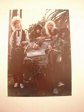 Guns N Roses GnR Coffee Table Book Photo Page Early