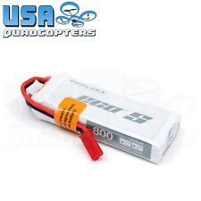 High Performance DualSky 800mAh 2s 7.4V 25C LiPo Battery Pack JST Power Plug