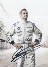 Andy Priaulx Hand Signed BMW Promo Card Touring Cars.