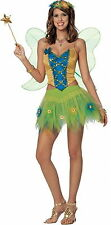 SEXY WOODLAND FAIRY WOMENS HALLOWEEN COSTUME SMALL 4 - 6
