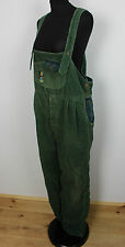 Vintage Khaki Corduroy Ladies Dungarees Festival Grunge Overall Womens Playsuit