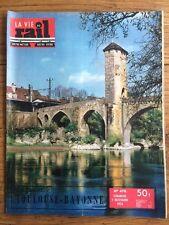 LA VIE DU RAIL n 470 du 7 Nov 1954 - Ligne Toulouse Bayonne