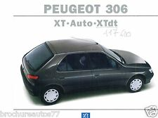 PEUGEOT 306 Catalogue commercial