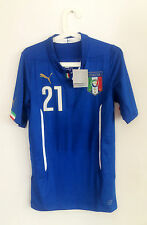 PIRLO, ITALY WC 2014 PLAYER ISSUE AUTHENTIC SHIRT JERSEY RARE ITALIA MAGLIA