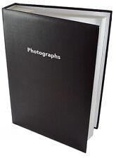 Black Memo Slip In Photo Album Fits 300 6 x 4 Photos Wedding Baby Photos NEW