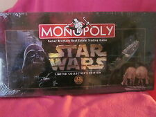 Monopoly Star Wars Limited Collector's Edition Numbered Game Board Sealed
