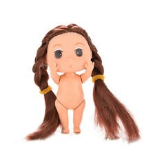 1 Pcs Mini Super Long Hair Doll for ddung Kid Birthday Cake Mold  Tools A118