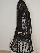 Edwardian / Titanic Era Black Tape Lace Coat / Jacket SM - MED