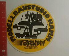Aufkleber/Sticker: Modellbaustudio Hamm Radio control Cockpit (28101676)