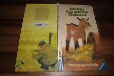 W. de Haen -- ICH BIN das KLEINE ZICKLEIN // Großformat Ravensburger 31x16,5 cm