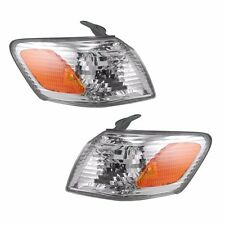 2000 2001 TOYOTA CAMRY CORNER PARK SIGNAL LAMP LIGHT PAIR RIGHT AND LEFT SET