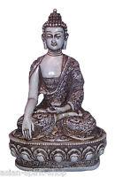 Erdender Buddha 27,5 cm  Figur Nepal Tibet Indien Buddhismus Mudra Meditation