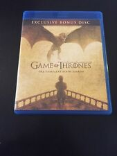 GAME OF THRONES - FIFTH SEASON EXCLUSIVE BONUS BLU-RAY DISC MASSACRE AT HARDHOME