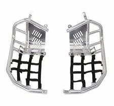 Yamaha Raptor 700 Foot Pegs Nerf Bars w/ Heel Guards 700R SE Webbing Heal 06-12