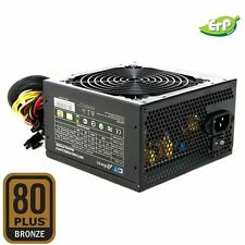 CiT 500W A-PFC 80 Plus PC Computer PSU Power Supply 6-Pin Ready 12CM Fan