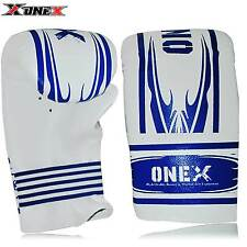 Kids Boxing MMA Bag Mitt Sparring Boxing Punch Bag MMA Training Junior Gloves