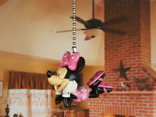 Disney Minnie Mouse Ceiling Fan Pull Cord Light Lamp Chain Decoration A630 B