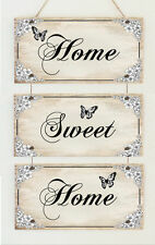 Beautiful Hand Made Plaque Home Sweet Home Wedding Engagement Sign Gift Present