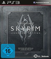 Sony PS3 SKYRIM Legendary Edition Kult Spiel The Elder Scrolls 5 V komplett OVP