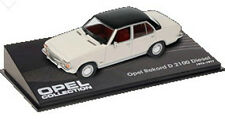 CL20  Opel Rekord D 2.1L 1973  1/43 Scale White/Black New in Display Case