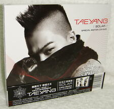 Tae Yang Vol. 1 Solar Taiwan Ltd CD+DVD (BIGBANG BIG BANG Taeyang)