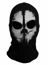 Call of Duty 10 balaclava face skull mask ghost bike skateboard Hood Cosplay