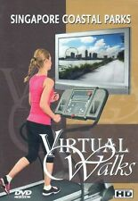 SINGAPORE COASTAL PARKS VIRTUAL WALK WALKING TREADMILL ELLIPTICAL WORKOUT DVD
