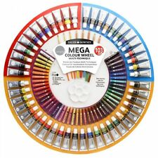 Daler Rowney Simply Mega Colour Wheel Set - Oil Acrylic Watercolour Oil Pastels