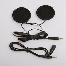 3.5mm Motorcycle Bike Helmet Headphones Speakers Stereo for MP3 iPod +94cm cable